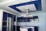 квадратный стиль оформления потолка