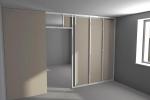 проект перегородки с дверью