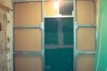 каркас стены из гипсокартона
