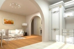 дизайн квартиры с арками