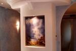 монтаж освещения на потолке