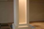 подсветка полой колонны
