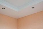 финишная покраска потолка