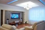 подсветка гипсокартонного потолка