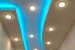 короб с неоновыми светильнинками