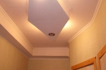подвесная конструкция на потолке