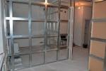 конструкция перегородки в комнате
