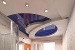 форма потолка в зале