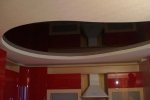 овальный узор на потолке