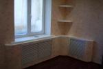 интерьер комнаты с коробом