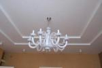 конструкция люстры и потолка