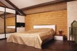 оформление вагонкой спальной