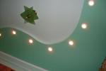 покраска конструкции в зеленый