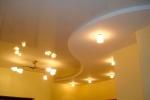 размещение светильников на гипсокартоне