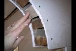 прикручивание саморезами гипсовых листов