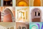 дизайны арок из гкл