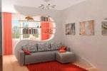оформление комнаты в розовых тонах