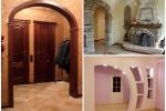 варианты отделки дверной арки