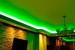 покраска потока в зеленый