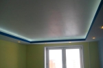 финальная отделка потолка