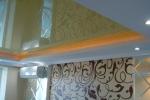 дизайн и оформление натяжного потолка