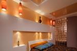 подсветка стенки из гипсокартона
