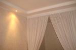 оформление штор в комнате