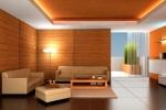 бежевый интерьер комнаты