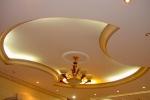 овальные фигуры на потолке