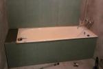 заделка пространства под ванной