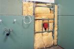 инсталяция в туалете из ГКЛ