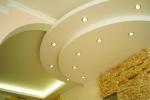 дизайн гипсокартонного потолка