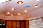 потолок из гкл со светильниками
