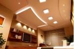 точечные светильники в ГКЛ