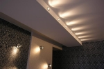 светильники в интерьере помещения