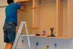 прикручиванеи шкафов