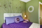 оформление гипсокартоном спальни