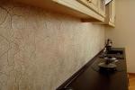 оформление кухни гипсокартоном