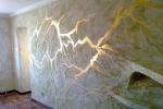 декор стен из гипсовых панелей