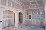подготовленные стены к отделке