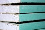 листы влагостойкого гипсокартона