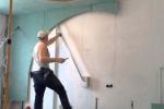 разметка ниши для стены