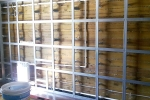 каркас в деревянном доме