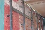 пример крепления профилей к стенке