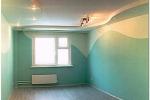 окрашивание стен в зале
