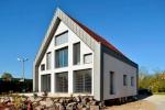 пример отделки фасада дома