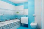 дизайн интерьере ванной комнаты