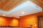 гипсокартонная конструкция на потолке