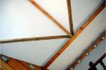 конструкция потолка в деревянном доме
