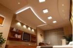 монтаж и отделка потолка на кухне